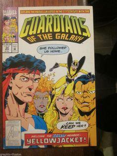 Galactic Guardians #2 1994 VG Stock Image Low Grade