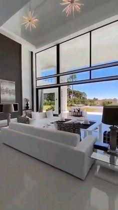 Dream House Interior, Luxury Homes Dream Houses, Luxury Homes Interior, Dream Home Design, Modern House Design, Home Interior Design, Interior Architecture, Modern Mansion Interior, Interior Decorating