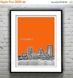 HOLIDAY SALE 20% Off Rochester New York by AnInspiredImage