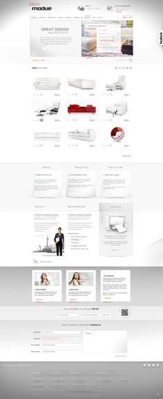 dm2agency - responsive online store on Behance