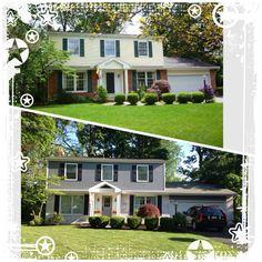 Ideas For Painting A Half Brick Half Siding Home 67