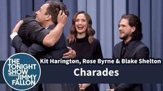 Charades with Kit Harington, Rose Byrne and Blake Shelton