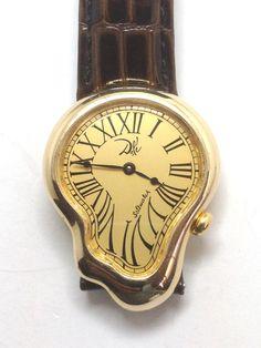 Salvador Dali wrist watch