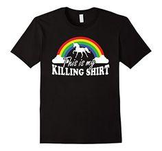 Mens This Is My Killing Shirt | Rainbow Teez 2XL Black Th... Rainbow First Birthday, Mens Tops, T Shirt, Black, Fashion, Supreme T Shirt, Moda, Tee Shirt, Black People