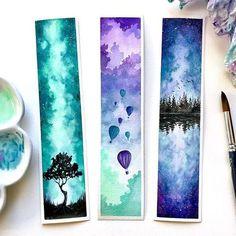 40 Insane Minimalist Bullet Journal Spreads My inner creative # bullet . Watercolor Bookmarks, Watercolor Paper, Watercolor Paintings, Watercolor Classes, Watercolor Tattoo, Drawing Artist, Drawing S, Drawing Ideas, Artist Painting