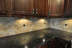 Backsplash Ideas For Ubatuba Countertop Granite Countertops And Tile Eclectic Kitchen