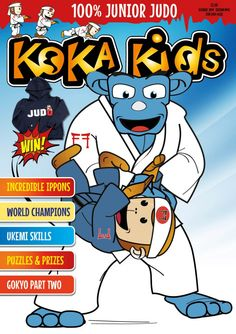 Nice judo throw - the Koka Kids magazine has all the best judo techniques. Each issue there is a simple move for children to learn.