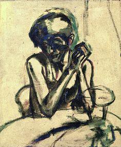 Emil Nolde, Portrait of Frau R. S., 1930
