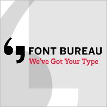 Fonts in use: great website that shows examples of typefaces being used in real life