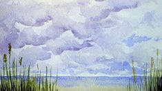 the frugal crafter watercolor - YouTube