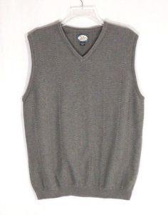 Tommy Bahama men's size medium sweater vest, gray  #TommyBahama