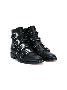 Shop for Prue Leather Biker Boots by Givenchy at ShopStyle. Ankle Boots, Heeled Boots, Biker Shoes, Givenchy Boots, Studded Boots, Mode Outfits, Mode Inspiration, Brown Boots, Comfortable Shoes
