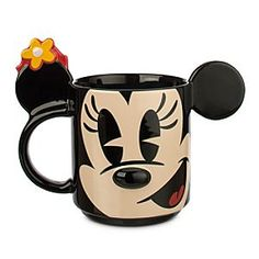Disney Minnie Mouse Dimensional Mug | Disney StoreMinnie Mouse Dimensional Mug - Start every day with a warm smile from Minnie and her dimensional mug with popped-out, pop art styling. As the fog lifts, your head will be filled with laughter! Collect the whole Disney gang.
