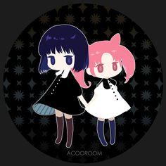 Sailor Moon: Hotaru and Chibiusa