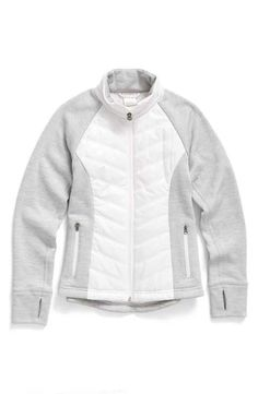 Zella Zelfusion Quilted Jacket (Little Girls & Big Girls)