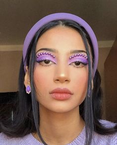 Image in makeup collection by - on We Heart It Indie Makeup, Edgy Makeup, Makeup Eye Looks, Eye Makeup Art, Cute Makeup, Pretty Makeup, Fairy Makeup, Crazy Makeup, Mermaid Makeup