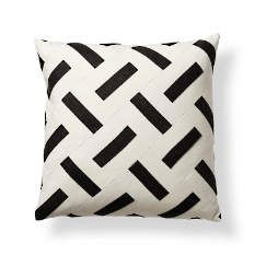 Onyx Pixel Outdoor Pillow by Porta Forma