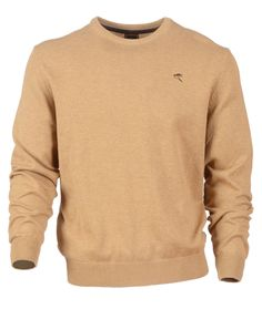 Ardboar in Caramel: This smart but versatile Crew-neck jumper in an amazing range of colours is a definite staple for any man's wardrobe. It is also machine washable so it couldn't be easier to look after. Jumper, Men Sweater, Men's Wardrobe, Caramel, Knitwear, That Look, Crew Neck, Trousers, Range