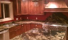Kitchen Granite Countertops done by Melling Granite
