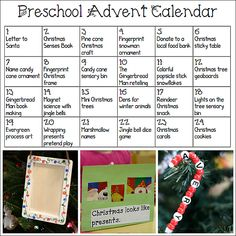 Printable Advent Cal