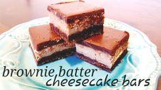 Brownie Batter Cheesecake Bars - Lou Lou Girls