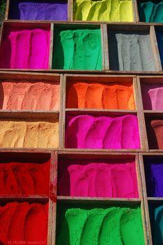 Rainbow Colors, Vibrant Colors, Colorful, Colours, Fluorescent Colors, Color Powder, Art Studios, Gypsy, Diy And Crafts