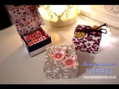 Love Hearts Sweeties Gift Box | Stampin' Up (UK) with Persephone's Papercraft - YouTube