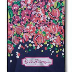 New Design Lilly Pulitzer Pink Rose Custom Blanket