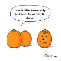 someone had work done - Old memes I used to think were funny. Fröhliches Halloween, Funny Pumpkins, Vegan Memes, Old Memes, Favorite Holiday, Laugh Out Loud, The Funny, Laughter, Funny Quotes