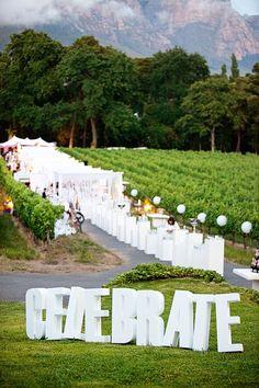 Such A Breathtaking Outdoor Wedding VenueFor