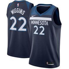 Men 22 Andrew Wiggins Jersey Blue Minnesota Timberwolves Fanatics 8e786e9d0