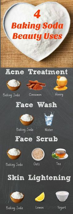 A Baking Soda Face Mask for Acne and Radiant Skin