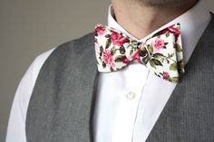 24ed5239d1 Mens Bow tie Floral men s self tied Bow Tie Untied Bowtie Boom Bow Wedding  tie C149