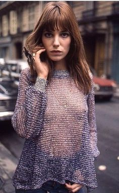 Jane in Paris. Photographer: James Baes