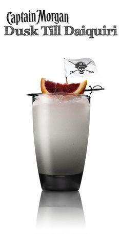 Magic Hour just got more delicious this summer. Daiquiri + Captain Morgan Grapefruit Rum = You're welcome.