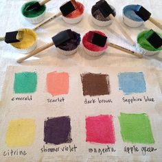 7 - pearl ex mixed with colorless extender Crafty Projects, Art Projects, Projects To Try, Martha Stewart, Pearl Ex, Pigment Powder, Embossing Powder, Paper Crafts, Diy Crafts