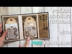 FREE Printable Envelopes + Two Closure Tutorials Printable Gift Cards, Printable Crafts, Free Printables, Diy Party Crafts, Envelope Book, Craft Free, Book Making, Booklet, Paper Crafts