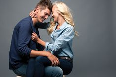these two...seriously!!! || Matt Clayton Photography: Denim & Blues // with Brad and Hailey Devine