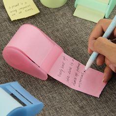Kawaii Fluorescente Adesivo di Carta Memo Pad Post-It di Cancelleria Mini Ufficio Xpress Può Strappare Note Appiccicose 1 pz