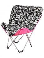 Zebra Butterfly Chair