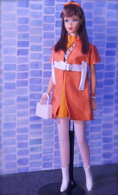 1970 Standard Barbie #1190 (1967 Standard Barbie's legs did not bend, otherwise looks quite similar)