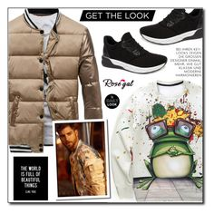 """""""Menswear (Rosegal 44)"""" by adnaaaa ❤ liked on Polyvore featuring WALL, men's fashion and menswear"""