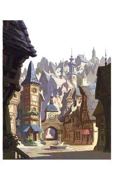 Tangled corona city design- more to come later
