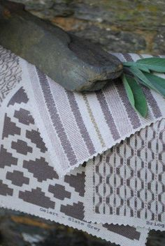 Damson and Slate, Beautiful products from Wales Slate, Wales, Fabrics, Decorating Ideas, Rugs, Sewing, Bedroom, Tableware, Pattern