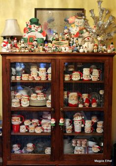 Snowman & Santa mug collection - Not quite as big as my Santa collection :)