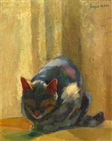 Jacques (Lehmann) Nam  Sleeping Cat