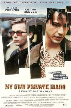 My Own Private Idaho River Phoenix, Keanu Reeves, James Russo - Director: Gus Van Sant IMDB: Two best friends living on the streets of Portland as hustlers embark on a journey of self discovery and find their relationship stumbling along the way. My Own Private Idaho, 90s Movies, Great Movies, Amazing Movies, Cult Movies, Keanu Reeves River Phoenix, Love Movie, Movie Tv, Keanu Reeves Movies