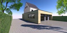 Renovation and interior concept for client SS.  Renovatie en interieur concept in modern landelijke stijl te Bree voor klant SS. De aanbouw is in grenen hout vervaardigd. Meer info op www.cr33mers.be