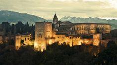 Альгамбра, Гранада, Испания