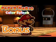 Remaining Cutouts & Secret Ending! - Paper Mario Color Splash 100% (Bonus)